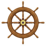 3d Ships wheel Stock Photography