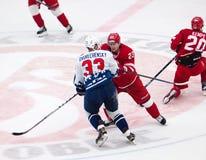 d Shitikov (23) contra Dvurechensky (33) Fotografia de Stock
