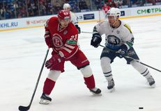 d Shitikov (23) contre St Pierre Martin (93) Images stock
