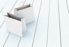 3D Shopping bags. 3D Illustration. Shopping bags. Shop concept Royalty Free Stock Photos