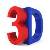3D sign Stock Photos