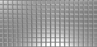 3d silver cubes abstract background. High resolution Stock Images