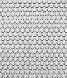 3D silver tile pattern stock illustration