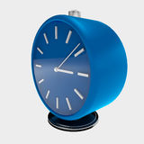 3d simply blue clock Royalty Free Stock Images