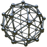 3d simulation of atomic structure Stock Images