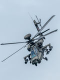 ` 64D Singapur Apache AH†Luftwaffe im Singapur Airshow 2016 Stockbilder