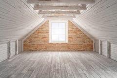 3d - sitio vacío - apartamento Fotografía de archivo libre de regalías