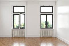 3d - sitio vacío - apartamento Imagen de archivo libre de regalías