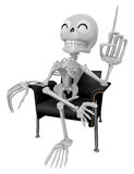 3D Skeleton Mascot is a great idea rushed upon my mind. 3D Skull Stock Images