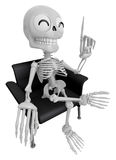 3D Skeleton Mascot is a great idea rushed upon my mind. 3D Skull Stock Photos