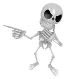 3D Skeleton Mascot is idea never crosses my mind. 3D Skull Chara Stock Image