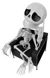3D Skeleton Mascot is idea never crosses my mind. 3D Skull Chara Stock Photography