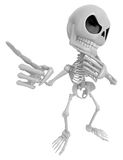 3D Skeleton Mascot is idea never crosses my mind. 3D Skull Chara Royalty Free Stock Image