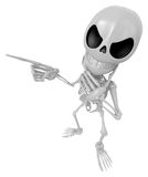 3D Skeleton Mascot is idea never crosses my mind. 3D Skull Chara Stock Photos