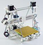 3D skrivare Assembly Fotografering för Bildbyråer