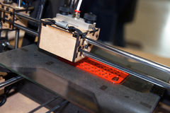 3D skrivare - FDM-printing Royaltyfri Fotografi