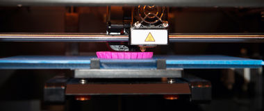 3D skrivare - FDM-printing Arkivbilder