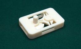 3D skrivare - tryckmodell Arkivfoton