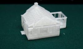 3D skrivare - tryckmodell Royaltyfria Bilder