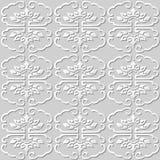 3D skyler över brister ramen för kurvan för konstmodellen den botaniska spiral Royaltyfri Bild