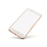 3d smart phone. On white background royalty free stock photo