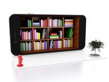3d Smartphone avec le magasin Image stock