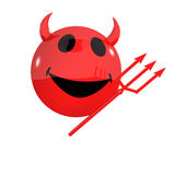 3d Smiley devil Royalty Free Stock Images