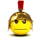3d Smiley gladiator Royalty Free Stock Photography