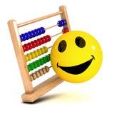 3d Smiley-telraam Stock Afbeelding