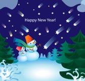 D-snowman Fotografering för Bildbyråer