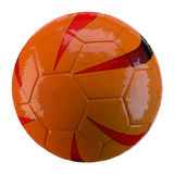 3d soccer ball on white background. 3d made soccer ball on white background Royalty Free Stock Photography