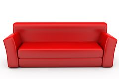 3d sofa concept Royalty Free Stock Photo