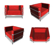 3D Sofa icon. 3D Icon Design Series. Royalty Free Stock Photography