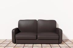 3d sofa Stock Photo