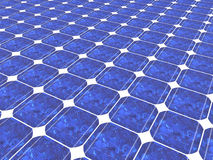 3d solar panel background Royalty Free Stock Photo