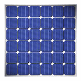 3d Solar panel Stock Photography