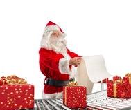 3D som framför den Santa Claus fabriken Royaltyfri Fotografi