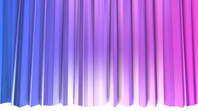 3d som framför låg poly abstrakt geometrisk bakgrund med modern lutning, färgar yttersida 3d med blå röd lutning som Royaltyfria Foton