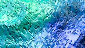 3d som framför låg poly abstrakt geometrisk bakgrund med modern lutning, färgar yttersida 3d som tecknad filmterräng med blått vektor illustrationer