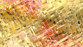 3d som framför låg poly abstrakt geometrisk bakgrund med modern lutning, färgar yttersida 3D V7 Arkivbild