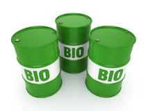 3D som framför trumman av biobränslen Royaltyfri Bild