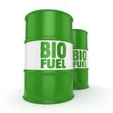 3D som framför trummor av biobränslen Royaltyfri Bild