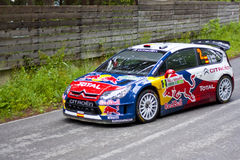 D.Sordo/M.Marti. 2010 Rally Bulgaria - WRC D.Sordo Royalty Free Stock Photography