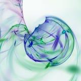 3d soustraient le fond d'illustration de fractale pour la conception créative Photos stock