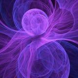 3d soustraient le fond d'illustration de fractale pour la conception créative Photo libre de droits