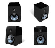 3D Speaker icon. 3D Icon Design Series. Royalty Free Stock Image