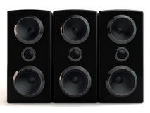 3d speaker Royalty Free Stock Image