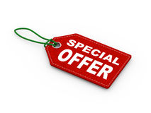 3d special offer tag label word text Royalty Free Stock Photos