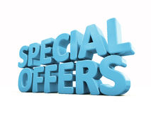 3d Special offers Stock Image