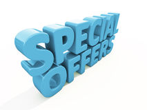 3d Special offers Stock Photography